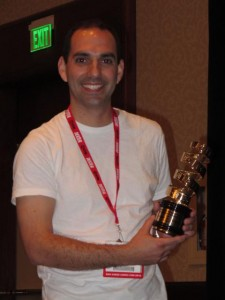 MIKE DOTO wins Best Comics-Related Film at COMIC CON!