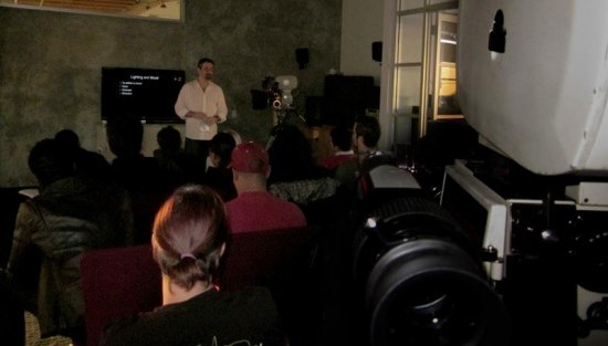 The Fundamentals of Cinematography Lab at Panavision