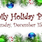 Family Holiday Party – Dec 15 – Dim Mak Studios